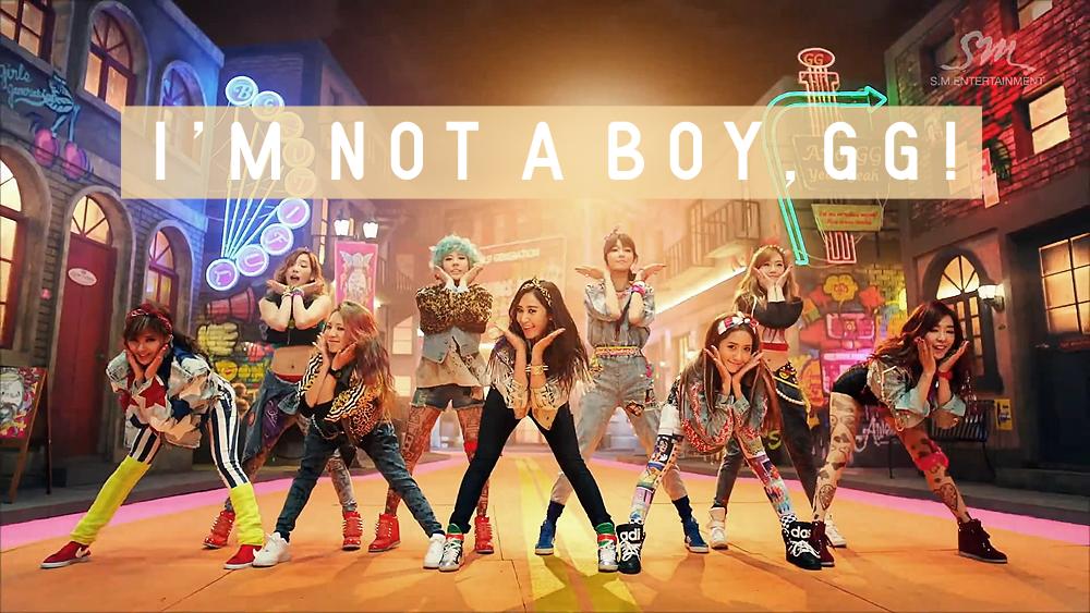 NOT A BOY