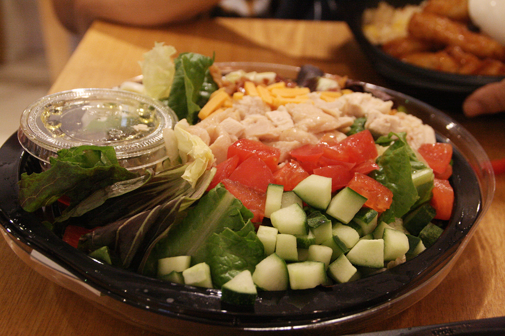 day 2 korean food - salad