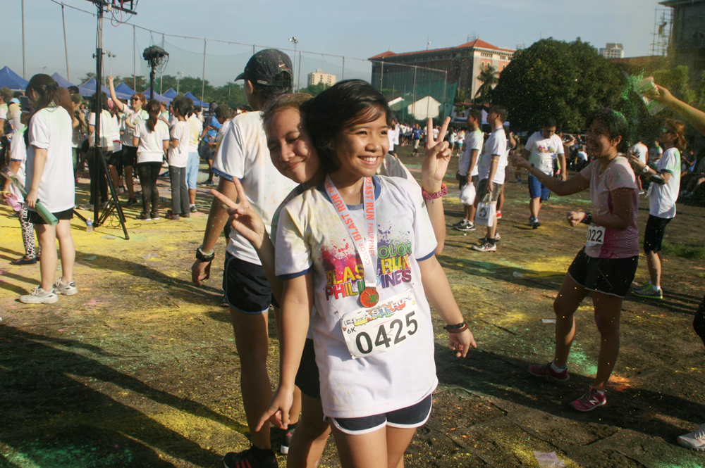 color blast run 2