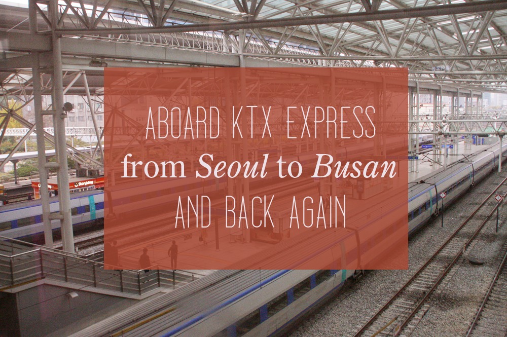 ktx seoul to busan cover