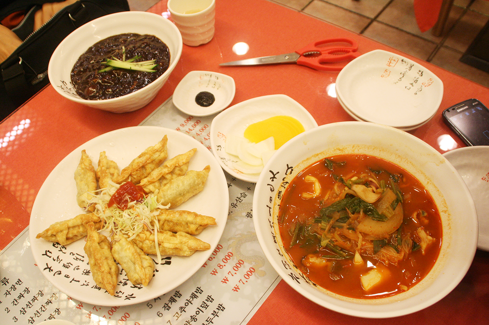 korean-chinese food jagalchi fish market