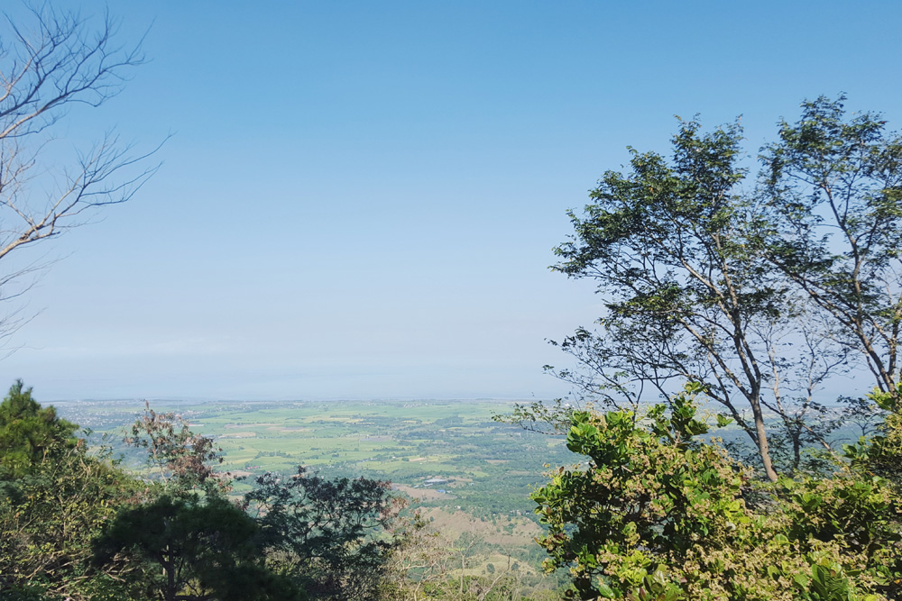 view from mt. samat